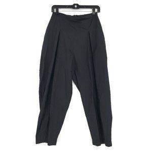 NEW Igor pedro pants pleated black tapered leg